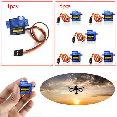 5pcs 9G SG90 Micro Servo motor RC Robot Helicopter Airplane Control Car Boat New