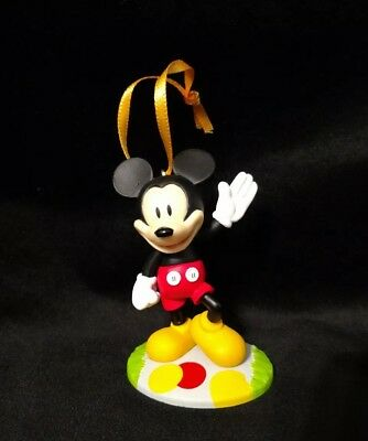 Disney Mickey Mouse Christmas Ornament 90th Anniversary Mickey Mouse Clubhouse