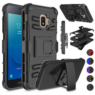 For Samsung Galaxy J2 2019/J2 Core/Dash/Pure Holster Stand Belt Clip Case Cover