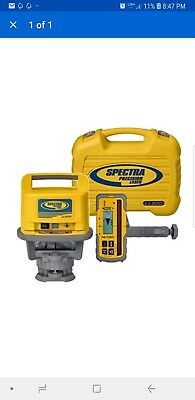 Spectra Precision LL500 Rotary Laser Level w/HL700 Receiver & Hard Case