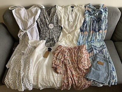 Bulk Womens Clothes SzS Mixed BNWT + Good Condition - Finders, Bardot Etc