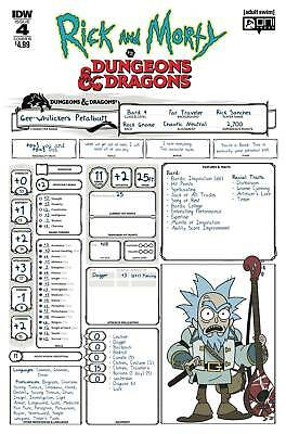 Rick & Morty Vs Dungeons & Dragons #4 (Of 4) Cvr B Little Pre-Orders 4 01/30/19