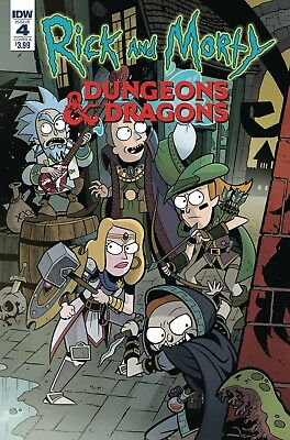 Rick & Morty Vs Dungeons & Dragons #4 (Of 4) Cvr A Little Pre-Orders 4 01/26/19