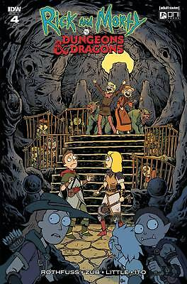 Rick & Morty Vs Dungeons & Dragons #4 (Of 4) 1:20 Variant Pre-Orders 4 01/30/19