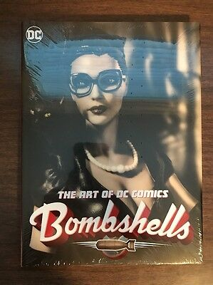 The Art Of DC Comics Bombshells Hardcover Book Harley Quinn Super girl