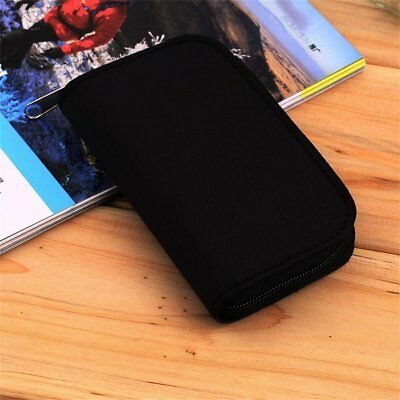SD SDHC MMC CF Micro SD Memory Card Storage Carrying Pouch Case Holder Wallet KH