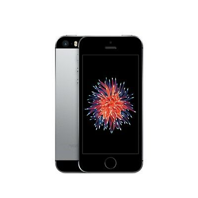 Apple iPhone SE Single SIM 4G 16GB Zwart, Grijs