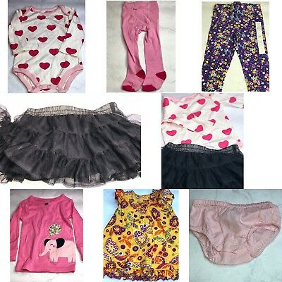 7 Pc Lot Of Baby Girl Clothes Size 12 Months Nwot Bg20