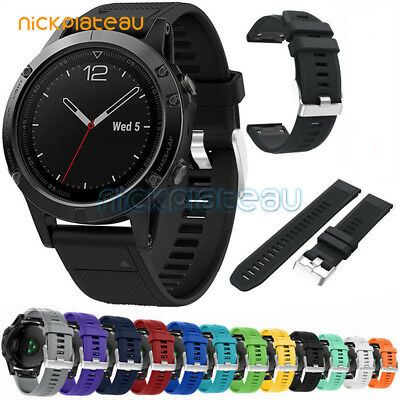For Garmin Fenix 5/Forerunner 935 Replace Silicone Watch Strap Wristband