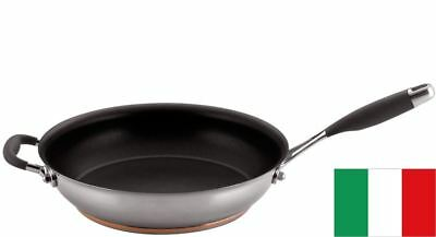 Essteele Australis - Open French Skillet with Helper Handle 28cm (Made in Italy)