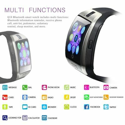Q18 Sports Smart Wrist Watch Bluetooth Waterproof GSM For Android/IOS System