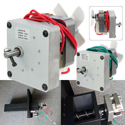 120v/230v Replacement Auger Motor For Pit Boss Electric Wood Pellet Smoker Grill