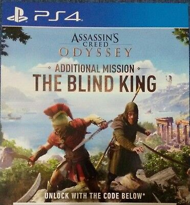 ✅ DLC BLIND KING Il re cieco ASSASSIN'S CREED ODYSSEY  PS4 Playstation 4
