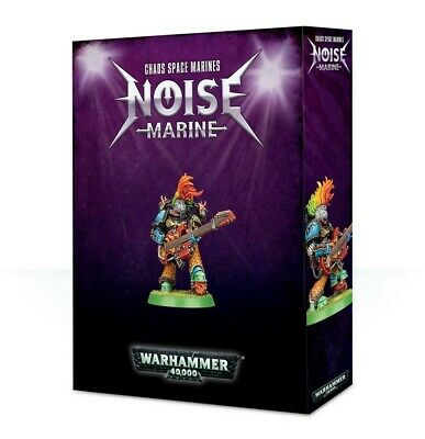 Chaos Space Marines Noise Marine Games WorkshopWarhammer 40,000 Brand New