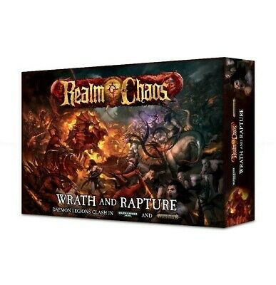 Realm Of Chaos: Wrath & Rapture - English Games Workshop Warhammer 40,000 New
