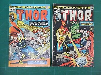 Thor #232 and #233