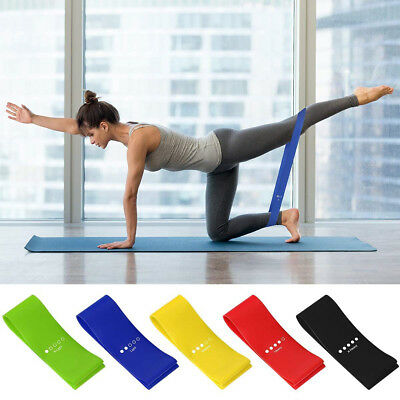 Resistance Band Loop Power Gym Yoga Exercise Fitness Workout