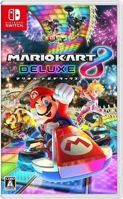 Used Mario Kart 8 Deluxe Japan version Multi-Language Nintendo Switch