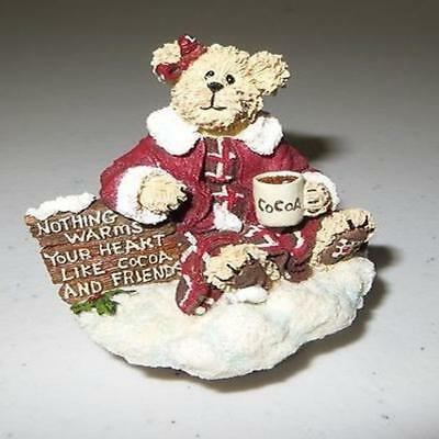 "Boyds Candle Topper ""Emma Goodbear"" Fits sml yankee candle~#94984CC-1- Exclusive"