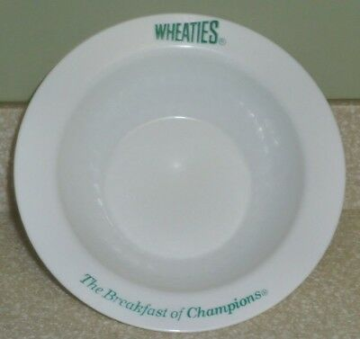 Wheaties Golf Bowl 2002 The Breaksfast of Champions White Cereal Bowl