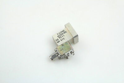Waveguide to Coaxial Adapter WR-42 to SMA M