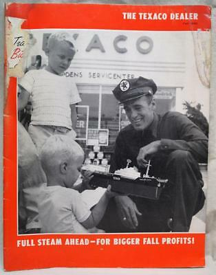The Texaco Dealer Magazine Publication Fall 1961 Service Station Owners News
