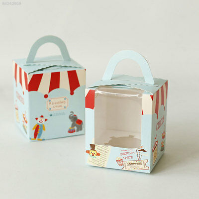 357A Cute 9.4*9.2*11 Cm Food Container Cake Box Party Gift Boxes Cardboard