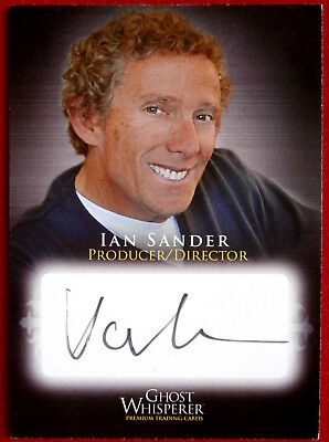 GHOST WHISPERER - IAN SANDER, Producer / Director - AUTOGRAPH CARD Breygent 2009