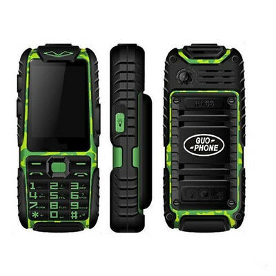 Outdoor Unlocked Rugged Shockproof Keyboard Mobile Cell Phone GSM High Capacity