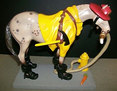 """""""Fireman"""" ~ A+ Gift ~ Trail of Painted Ponies ~ """" Fireman Pony """" ~ PRE """"E"""" Issue"""