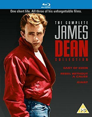 The Complete James Dean Collection (Blu-ray, 3 Discs, Region Free) *NEW/SEALED*