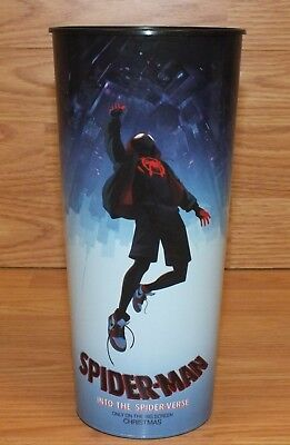 Spider-Man Into The Spider-Verse Christmas Exclusive Movie Promo Drink Cup Only