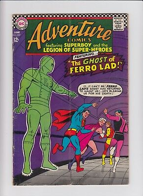 Adventure Comics Superboy & Legion Of Super-Heroes 357 G/VG CHEAP! 60s DC Silver