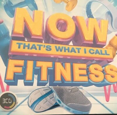 NOW That's What I Call Fitness, Cd Mint
