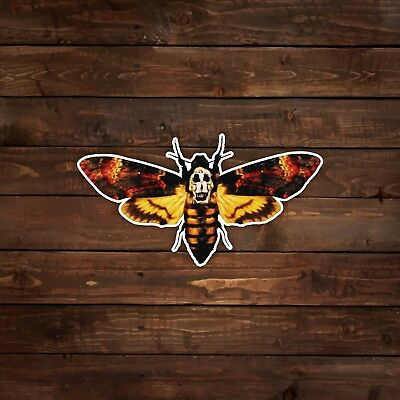 Silence of the Lambs Moth Decal/Sticker