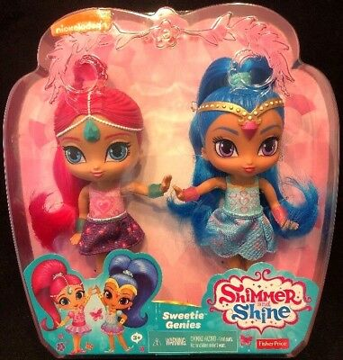 Sweetie Genies Shimmer And Shine Fisher Price Dolls 6