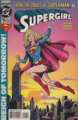 Supergirl Miniseries 1 2 3 4 Complete 1994 & Team Luthor Annual TV series VF/NM
