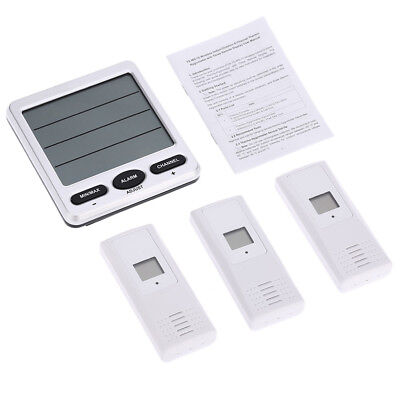 Wireless Indoor/Outdoor 8-Channel Thermo-Hygrometer with 3 Remote Sensor AU
