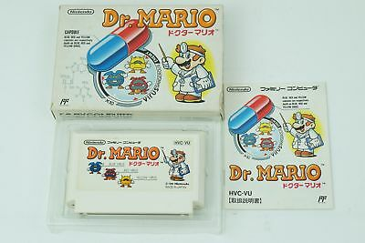 Dr . MARIO NES Nintendo Famicom Box From Japan