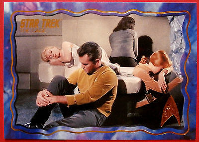 "STAR TREK TOS 50th Anniversary - ""THE CAGE"" - GOLD FOIL Chase Card #53"