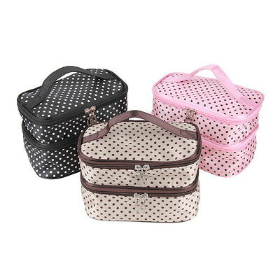 Ladies Mens Toilet/Camping/Hiking Outdoor Hanging Toiletries Makeup Bag Zippe KM
