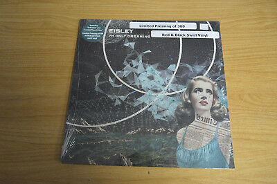 I'm Only Dreaming LP by Eisley red/black swirl vinyl limited edition sealed new