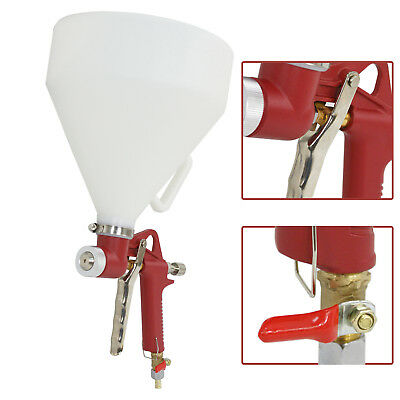 Air Hopper Spray Gun Paint Texture Wall Painting Sprayer Tool Wide Spraying New