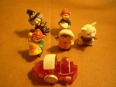 Hallmark Merry Miniatures Mixed Lot of 6  free shipping
