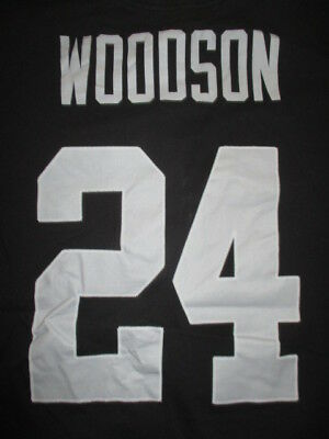 fd6a53b94 CHARLES WOODSON  24 Oakland Raiders NFL nike Jersey Toddler 2T ...