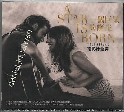 A Star is Born Soundtrack 2018 Lady Gaga TAIWAN CD w/ SLIPCOVER SEALED
