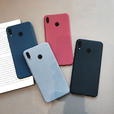 For Huawei Honor Play 8X 8X 10 Lite Slim Soft Silicone Sandstone TPU Case Cover
