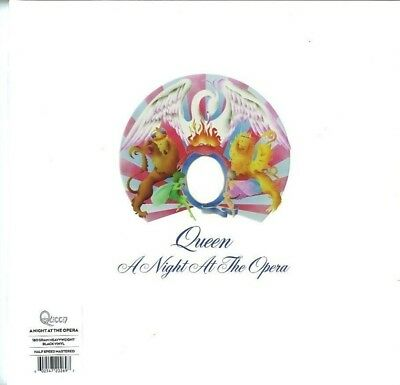 Queen Night At The Opera EU 2015 remastered 180gm black vinyl LP g/f sleeve