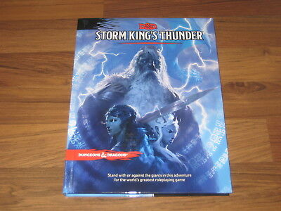 D&D 5th Edition Storm King's Thunder Hardcover Adventure WotC 2016 Neu New