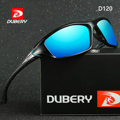 DUBERY Polarized Sunglasses Day & Night Vision UV400 Driving Sports Eyewear D120